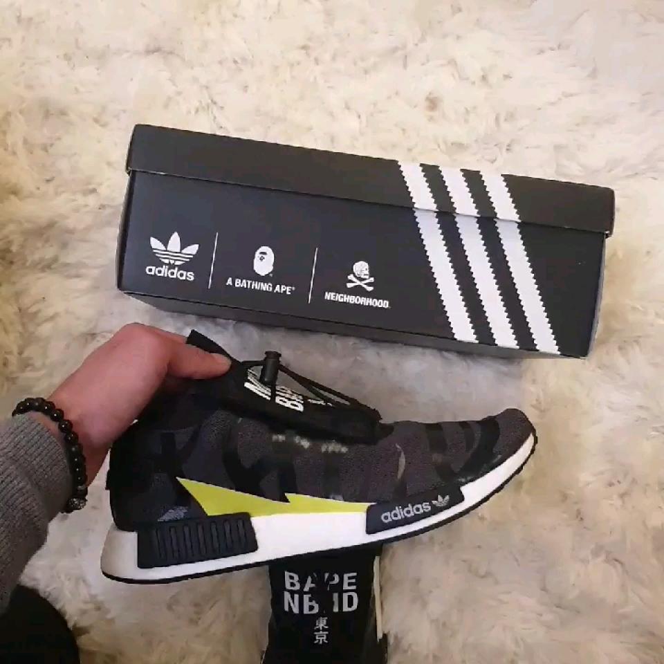 A BAPE x NEIGHBORHOOD x Adidas NMD