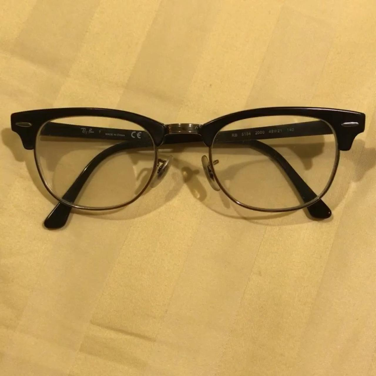 323d444293 PRICE LOWERED! AUTHENTIC ray ban clubmaster glasses! they my - Depop
