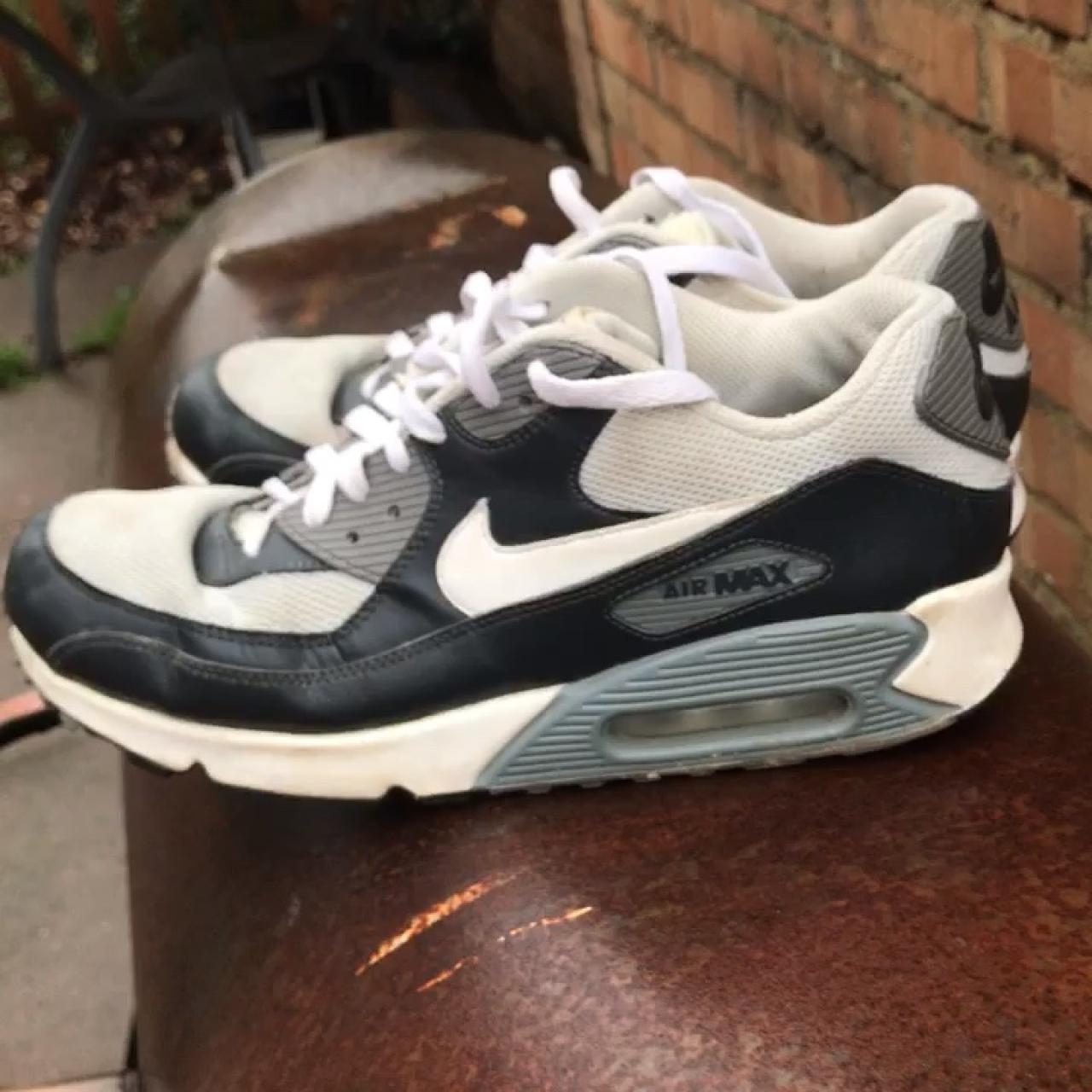8bb6c56611 @otoole_. 7 months ago. Wolverhampton, United Kingdom. vintage nike airmax  90s in grey colourway. these shoes ...