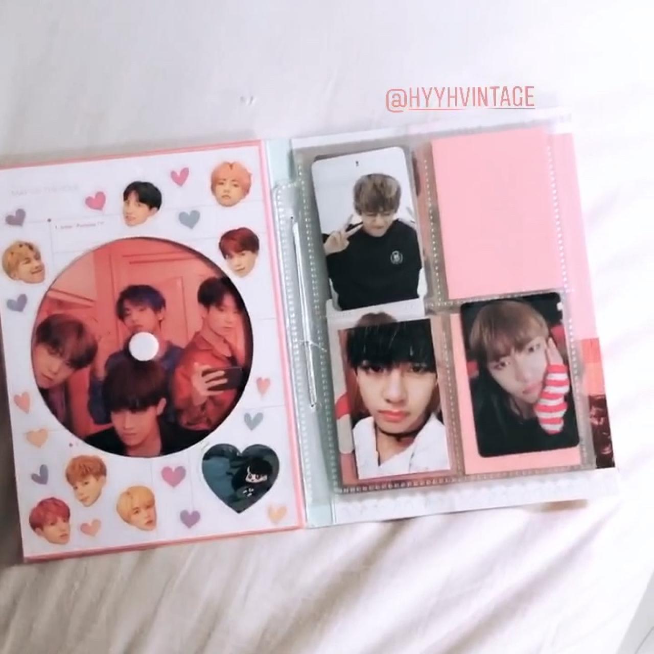 ♡ BTS ♡ Fanmade Photocard Binder - Pick which    - Depop
