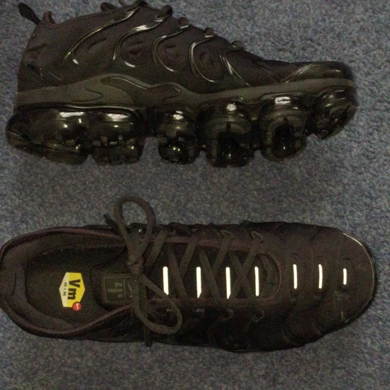 97ea47c9b445 Nike Air Vapormax Plus triple black