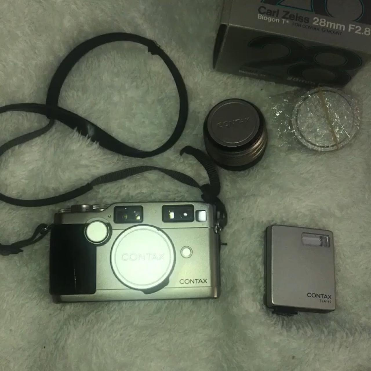 Used Contax G2 35mm Rangefinder Film Camera (with    - Depop