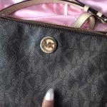 9720bf962c2f MICHAEL KORS Fulton Flap Gusset Cross-Body Bag. It features - Depop