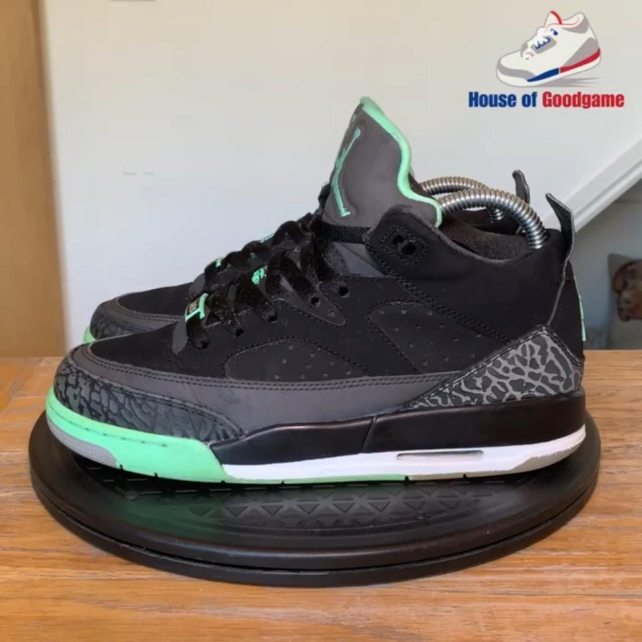 f3d2d2e155c Air Jordan Son of Mars Low GS 'Green Glow' Colour: Code: 8 - Depop