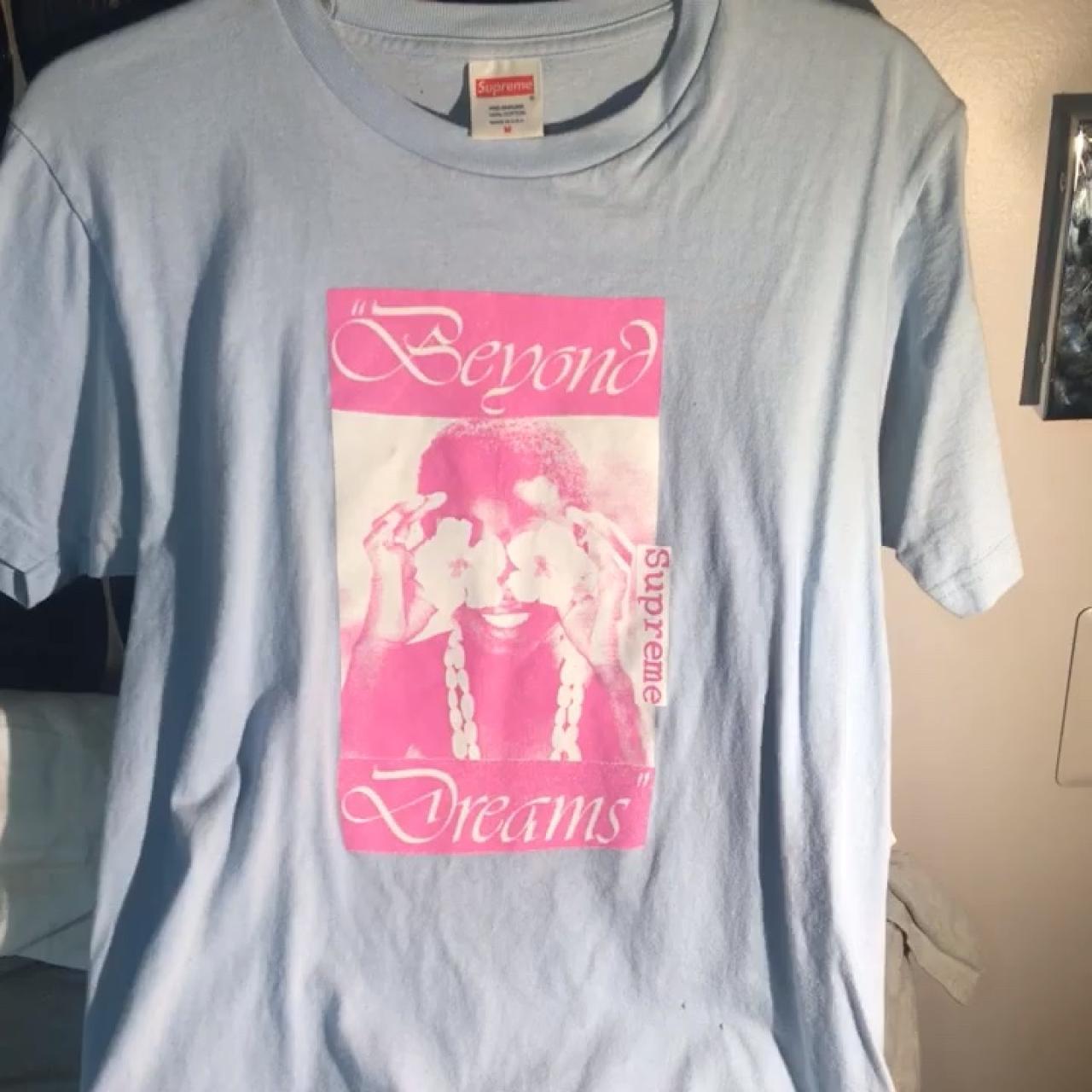 4ab3b8d7 SUPREME BEYOND DREAMS GUCCI MANE T-SHIRT This t-shirt is in - Depop
