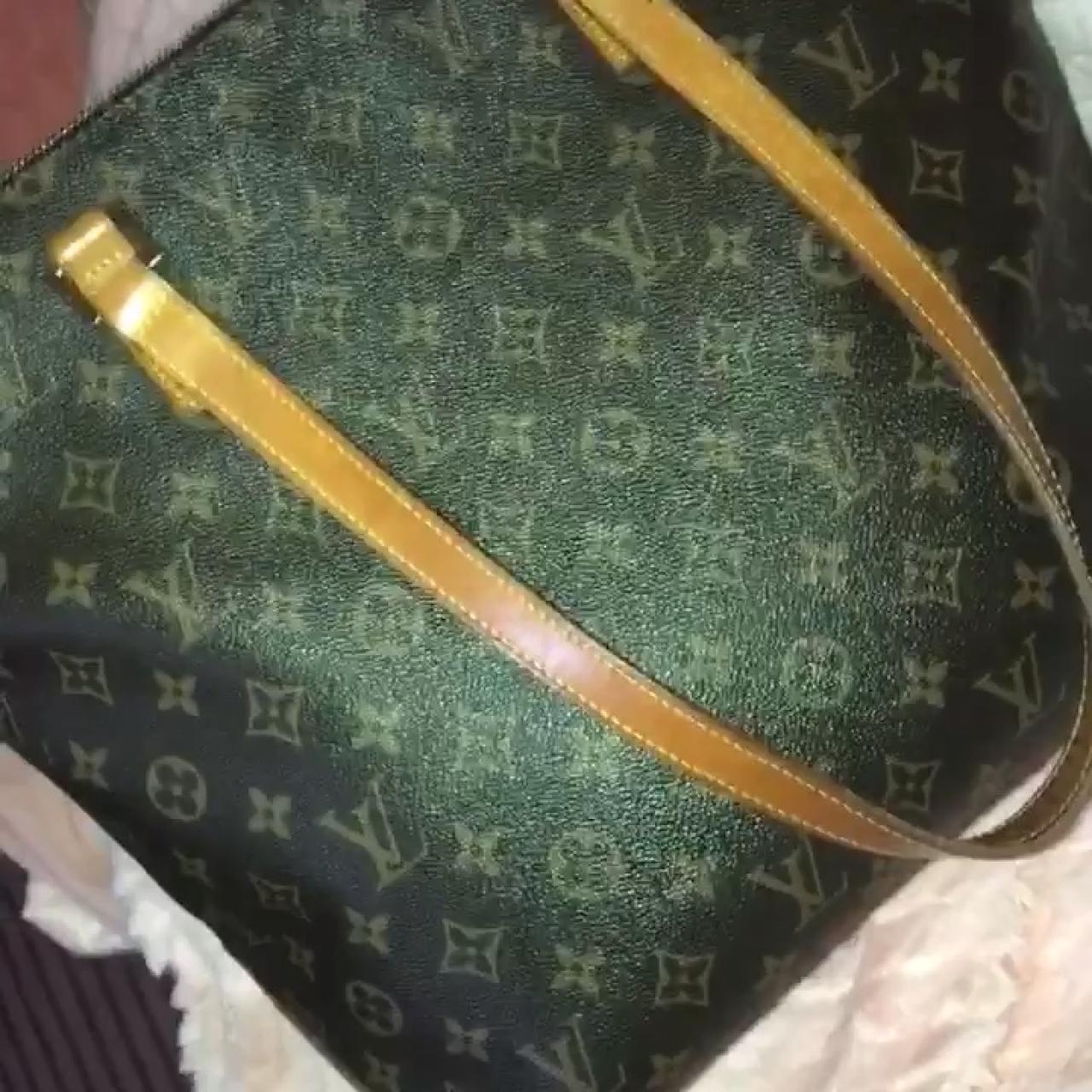 d1bc6fbfe5e47f Authentic Louis Vuitton cabas mezzo bag. Large size bag can - Depop