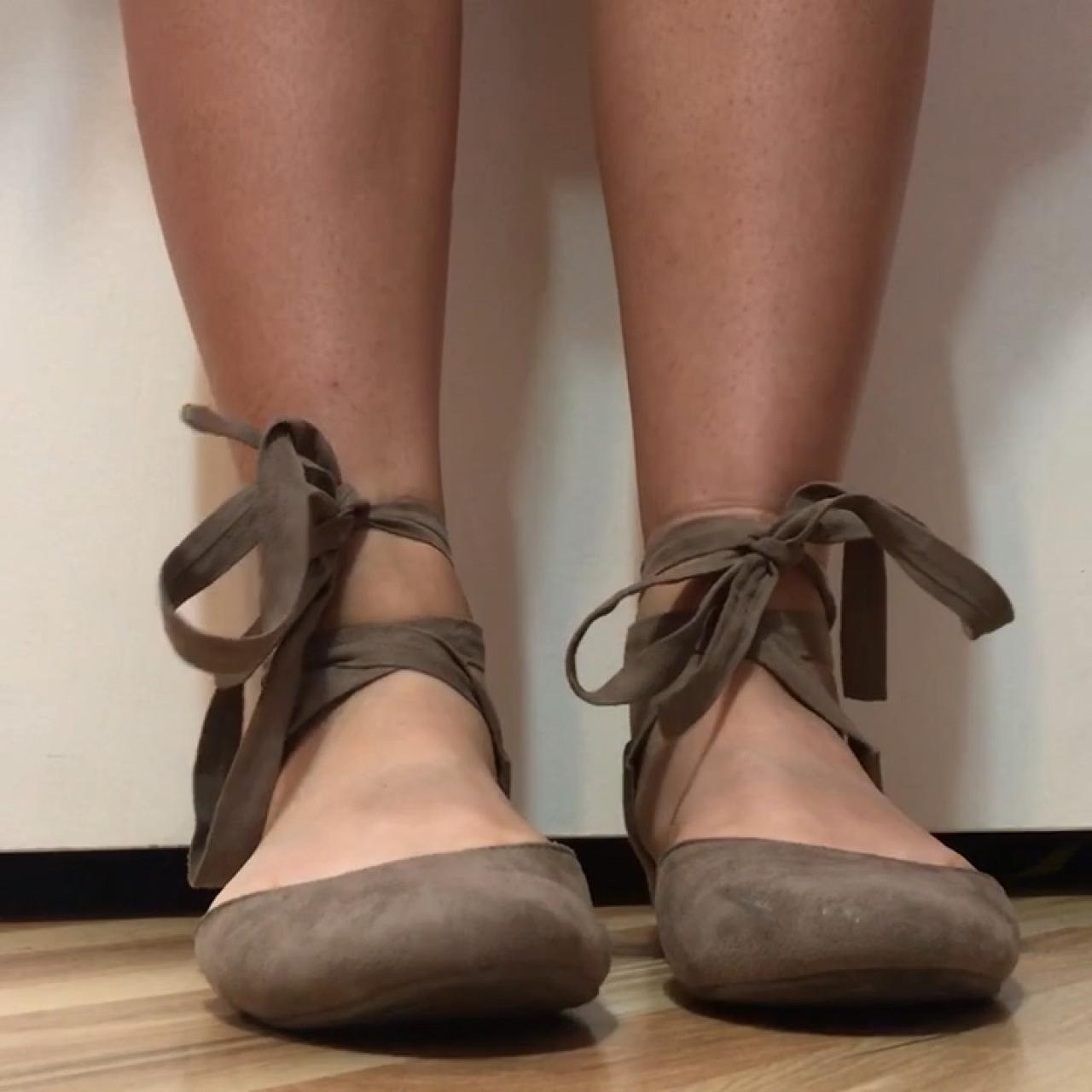 de4f646422a These cute suede flats are from Target. I ve only worn them - Depop