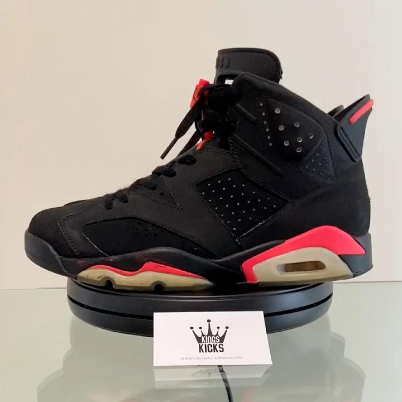 """Nike Air Jordan 6 Retro """"Infrared"""" 2014"""