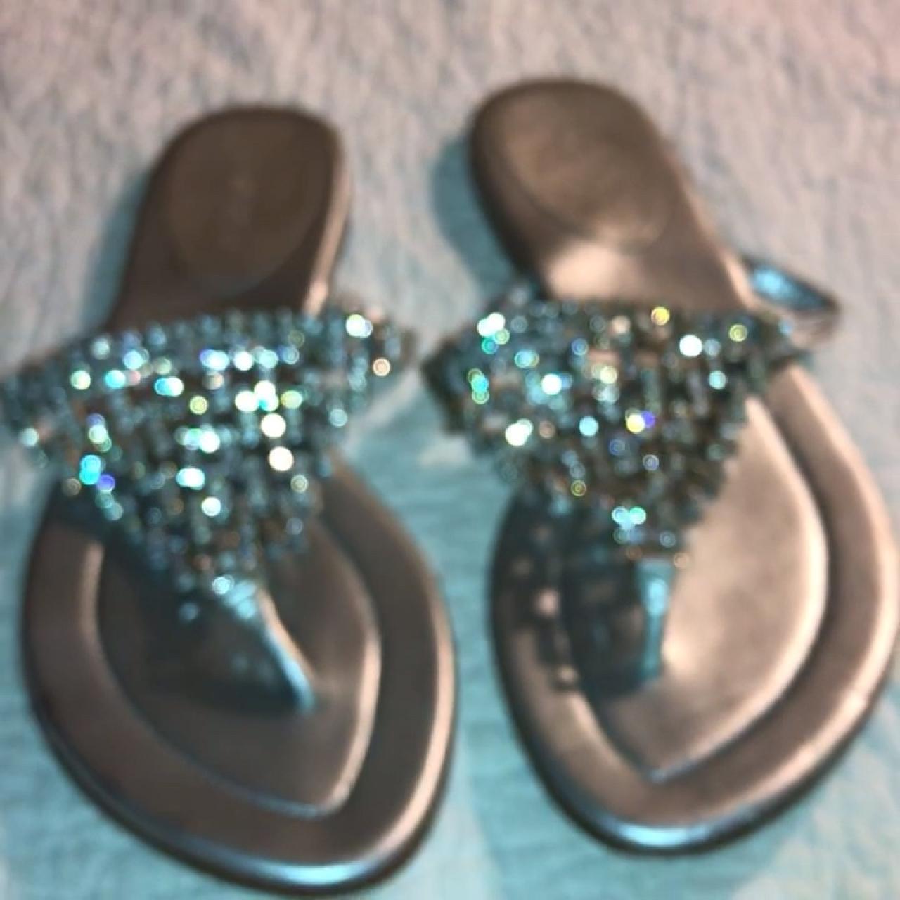 c96c78cb2 y2k Bebe Crystal sandals