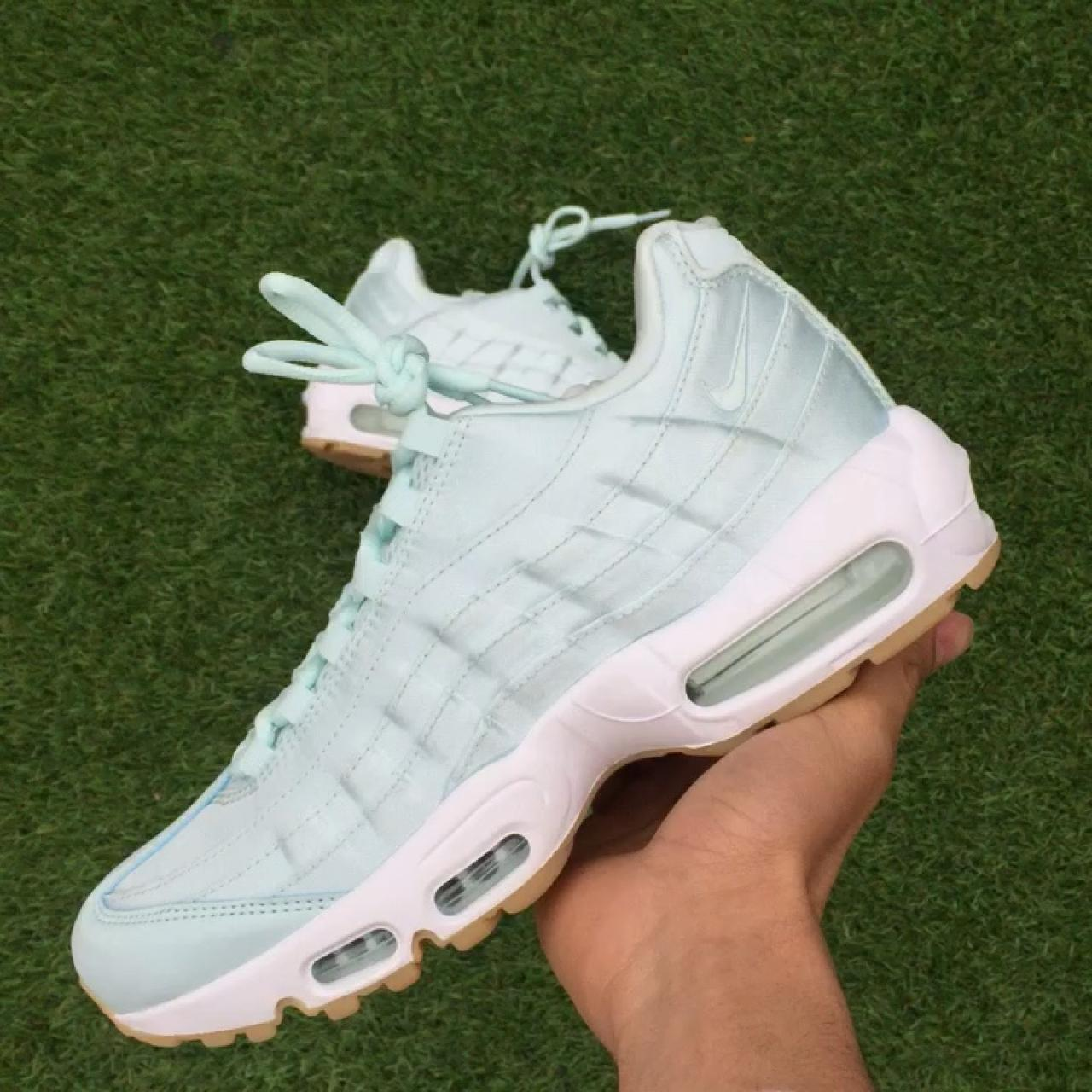 buy online e2575 fef36 Nike Air Max 95 Glacier Blue QS ❄️ Brand new with... - Depop