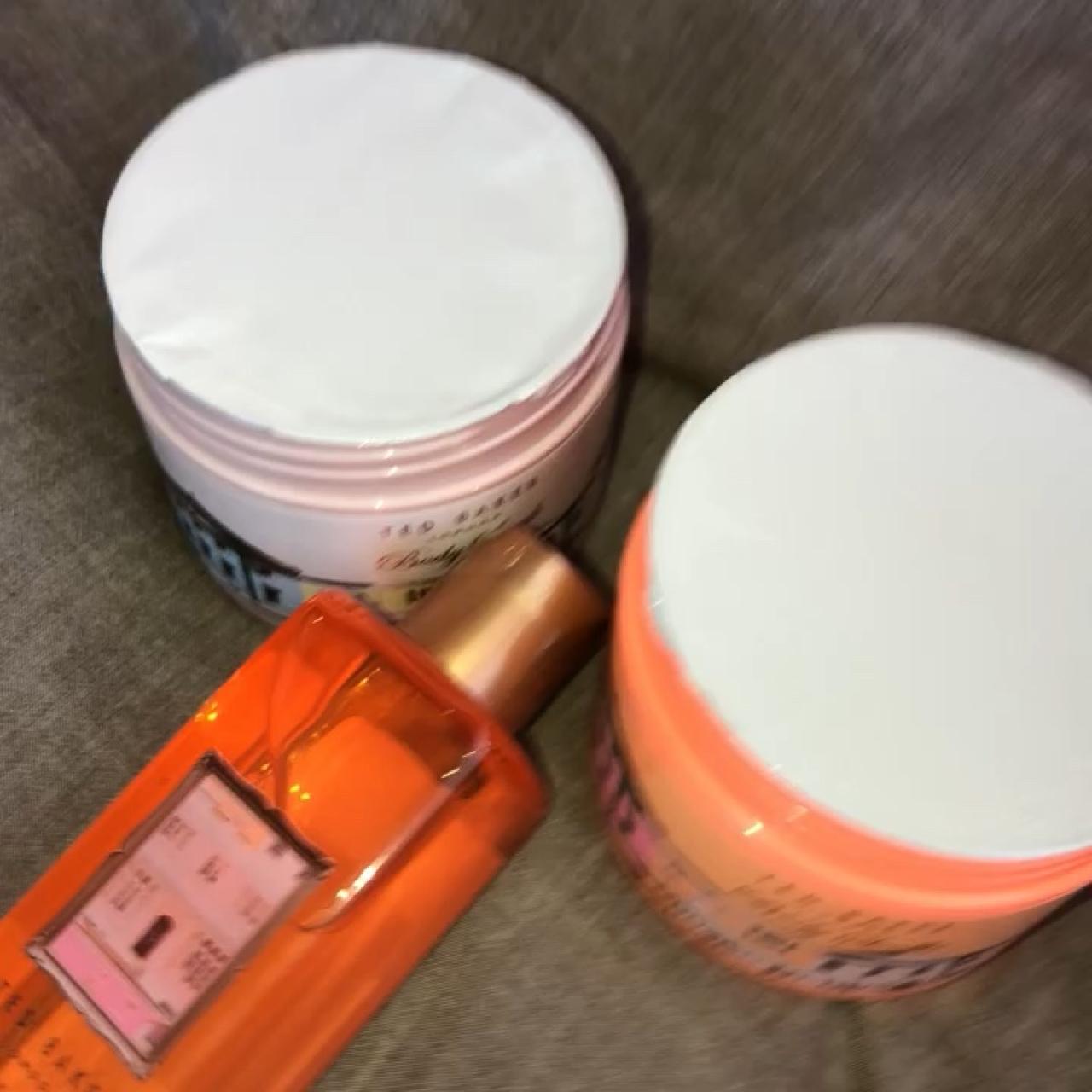 7c840b44abb Ted Baker 250ml Bath foam, 300ml Body scrub and body soufflé - Depop