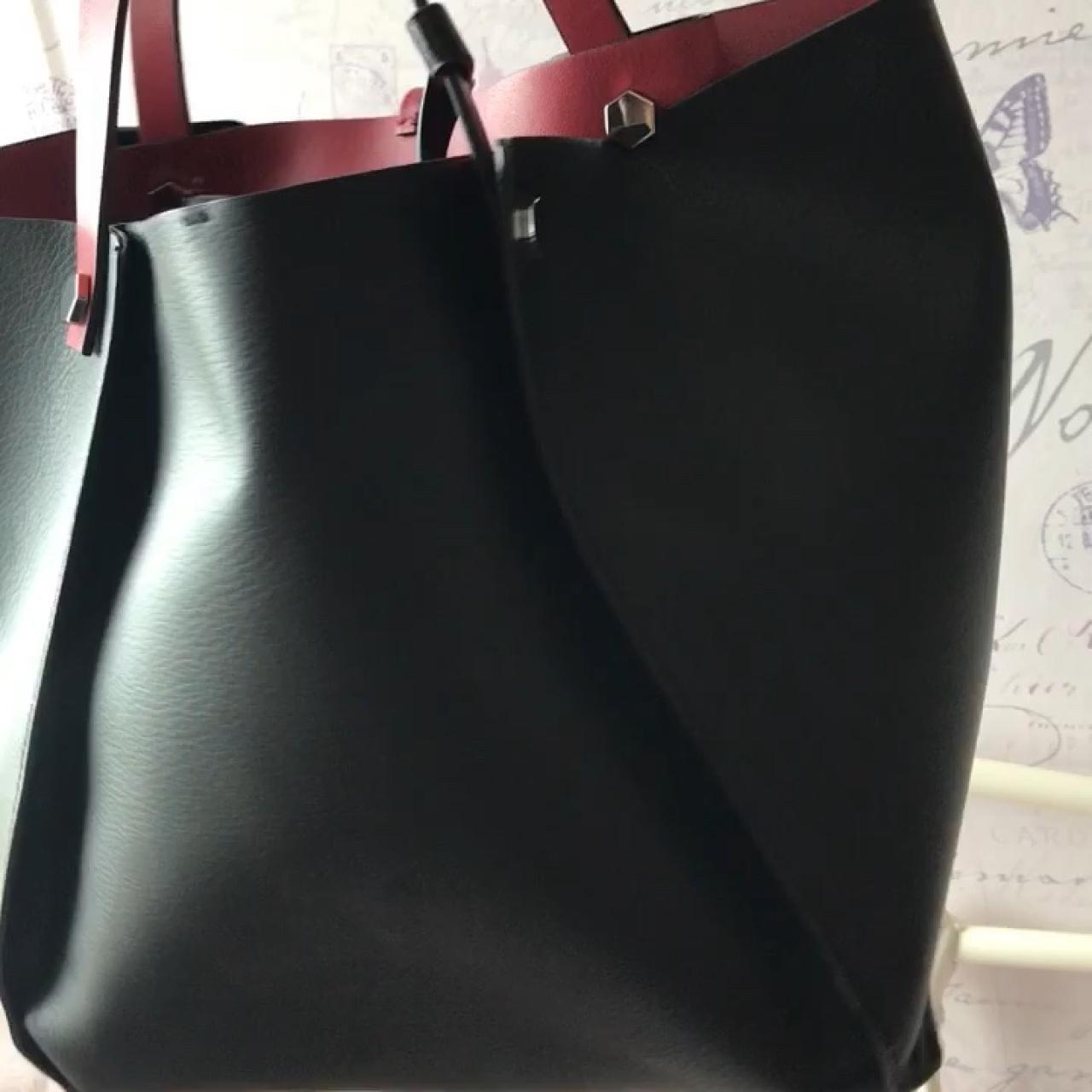 7a48f3aa36b @charlotteg17. 10 months ago. Colwyn Bay, United Kingdom. Zara medium sized  Reversible tote bag.