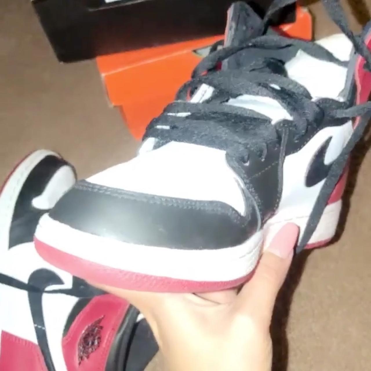 18c5356d1576 5.5Y Nike Air Jordan Black Toes.. worn a solid 5 times