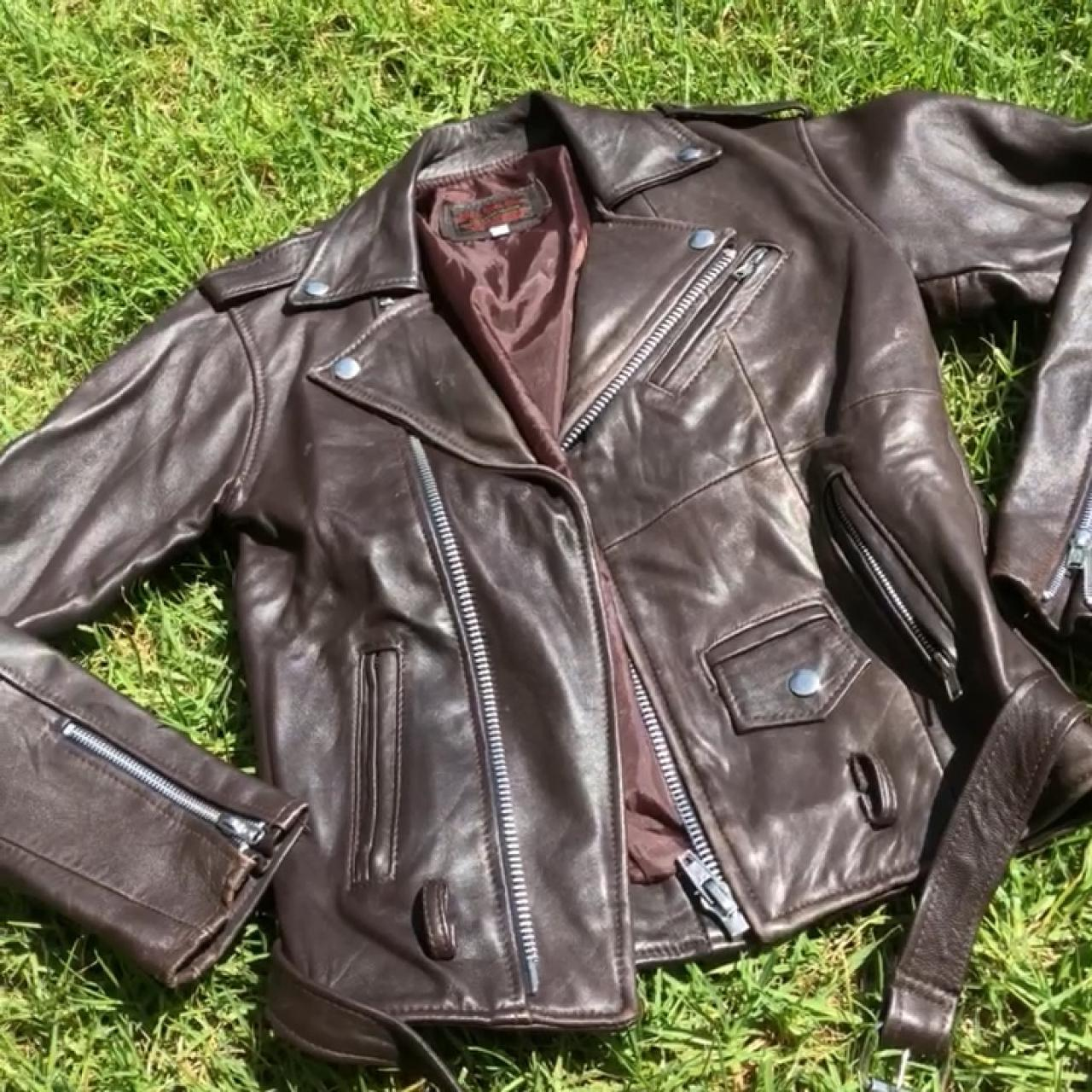 bc439a1bf3b4b CHECK OUT MY BOGO DEAL pelechecoco leather moto biker This - Depop