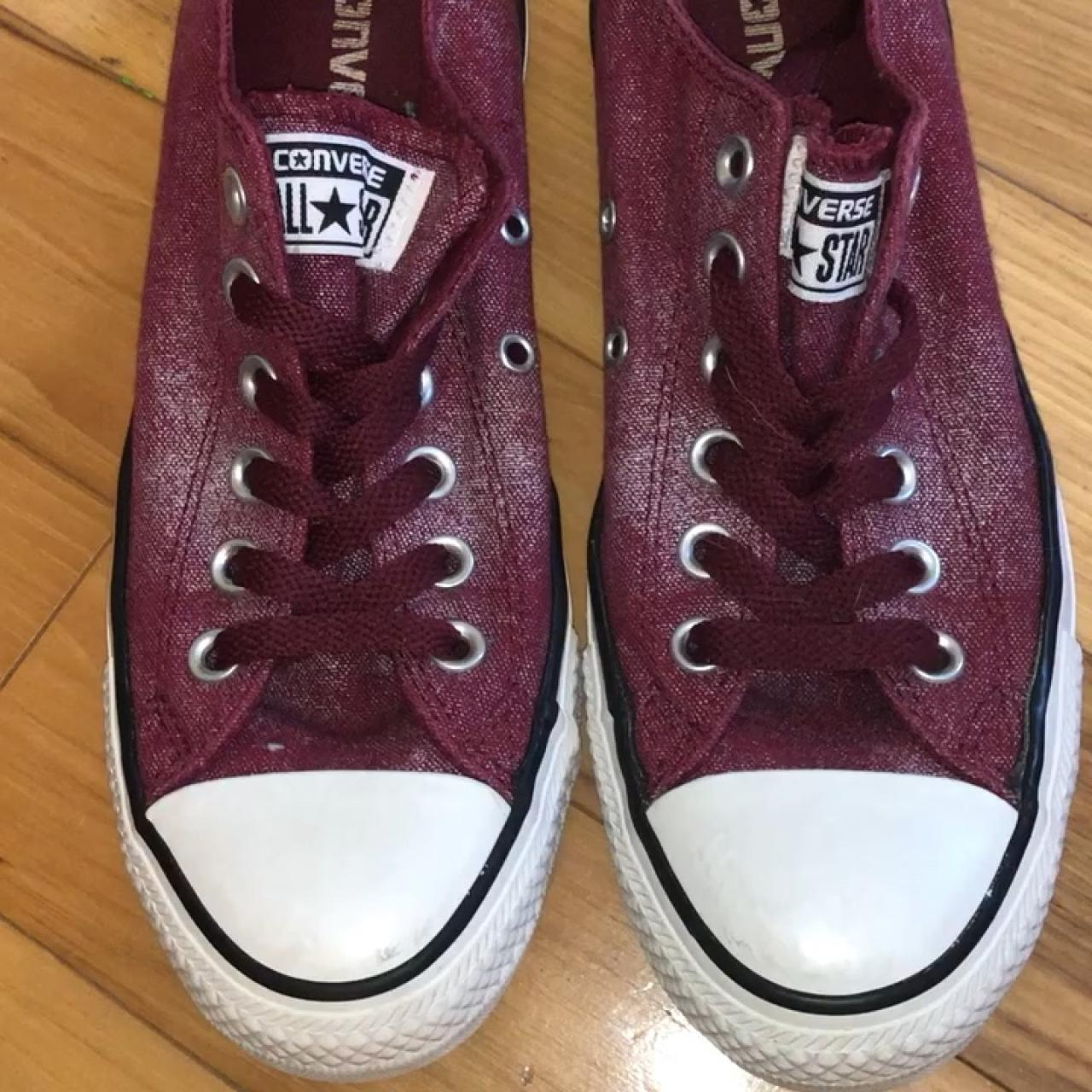 329d96ceca7 ⭐ Maroon Converse All Stars ⭐ These are brand new