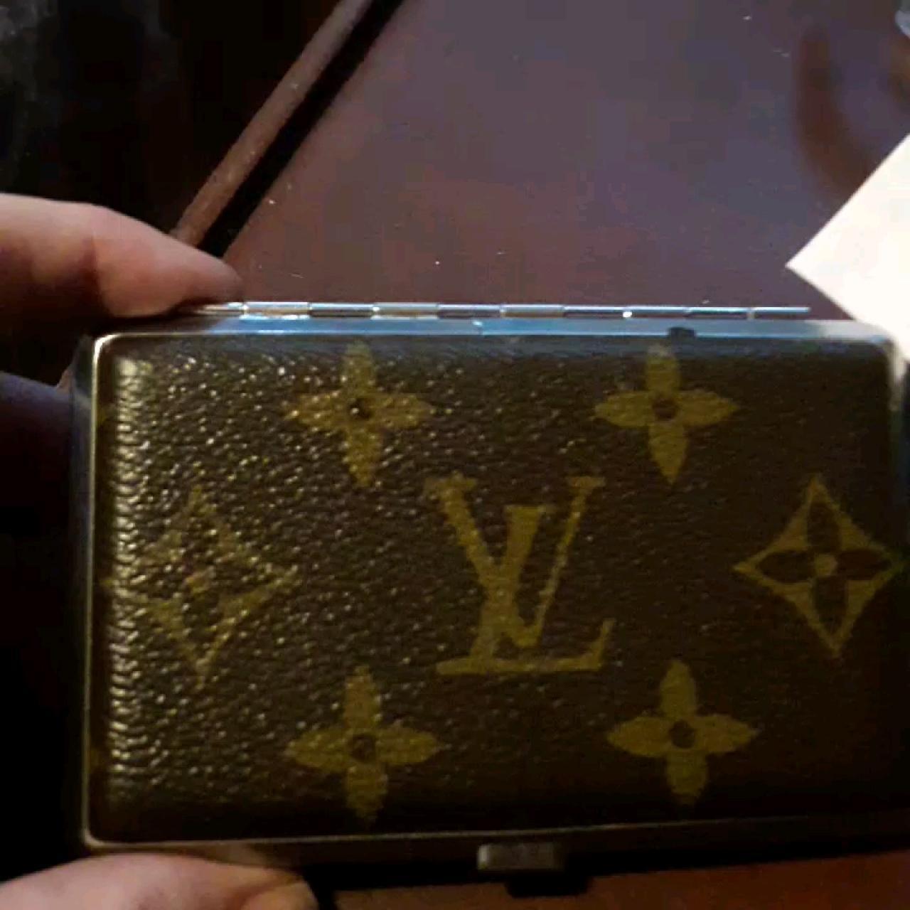 buy online bd62e a4d7f PRICE FIRM. Louis Vuitton vintage metal cigarette... - Depop