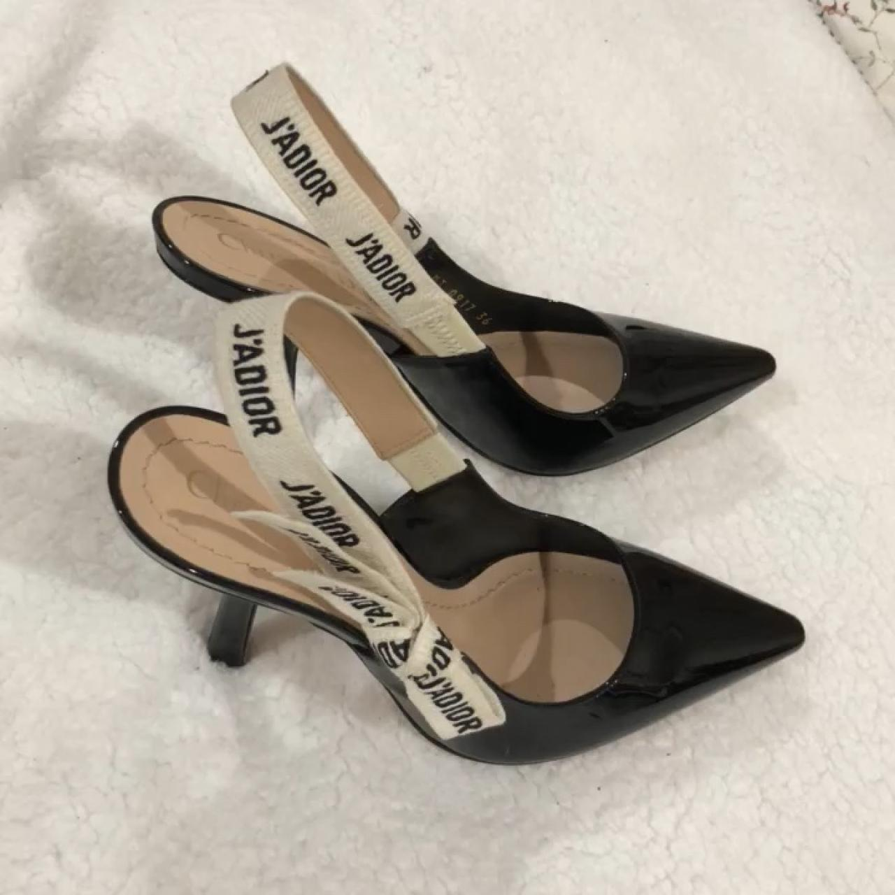 a8011642c 100% Authentic Dior kitten heels. retails for 1000 including - Depop
