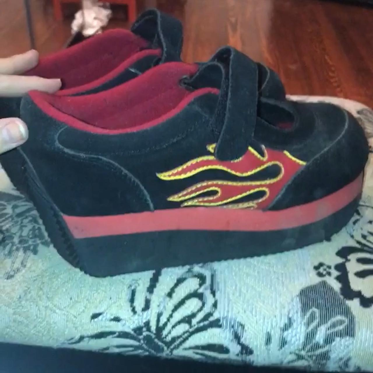 82bec17c663 Hella these volatile platform maryjane sneakers have a depop jpg 1280x1280 Volatile  platform sneakers 90s
