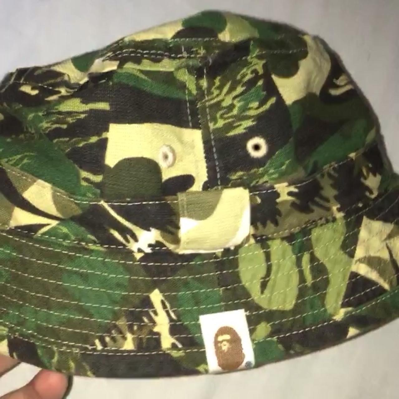 Bape Bucket Hat. Size medium. No stains or flaws. 9 10 - Depop d5b28e99e0dd