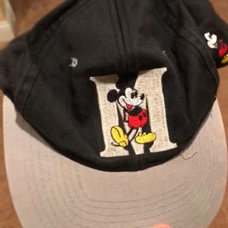 3ad21ac18b8 Vintage embroidered Mickey Mouse elastic hat Tags  stitch - Depop