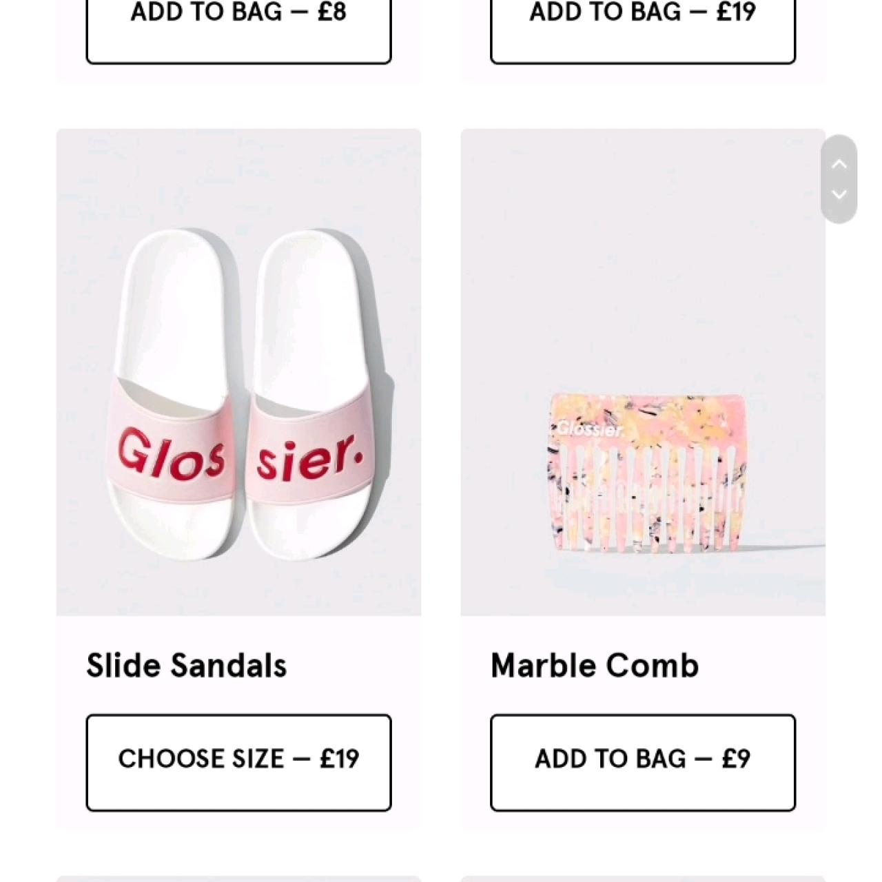NEW GLOSSIER MERCH GLOSSIWEAR AVAILABLE