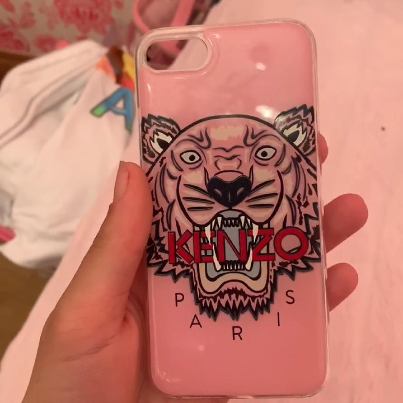 d1816f3f @laultaylor. 5 months ago. Chigwell, United Kingdom. Pink Kenzo iPhone 8 ...