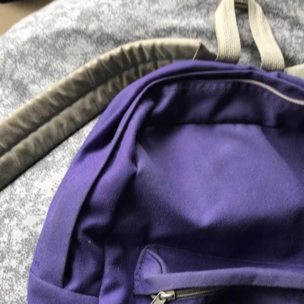 ed11cef4950b Purple   grey American Apparel rucksack‼ Don t use anymore
