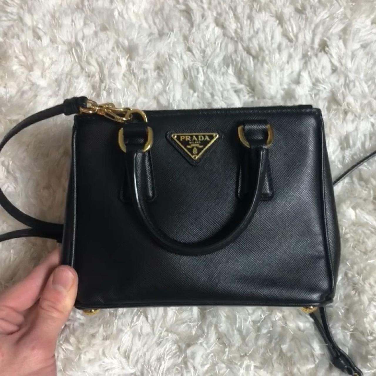 b3ef9b1710 MINI PRADA BAG!Super cute Prada mini bag in excellent condition, barely any  signs of wear! Comes with shoulder strap