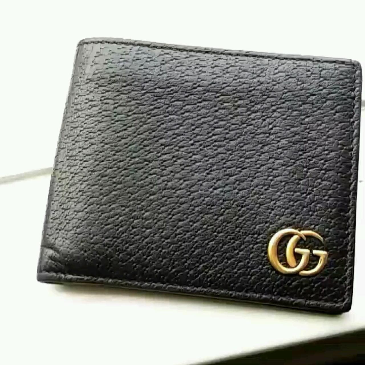 c596aac0eead @queenxcalifia. 6 months ago. Melbourne, Victoria, AU. Brand new, unused GG  Marmont leather Gucci bi-fold wallet.