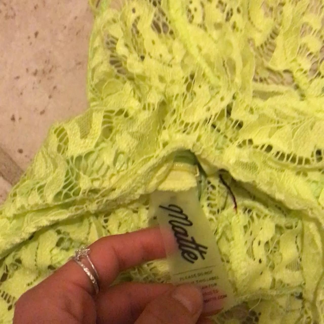 e37baa7f4b5f Matte brand siren lace bodysuit. Size XS. Never worn